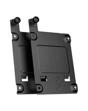 """Fractal Design SSD Tray Kit - Type-B (2-pack), Black, 2x 2.5"""" SSD Brackets - For Fractal Design cases with Type-B SSD mounts only"""