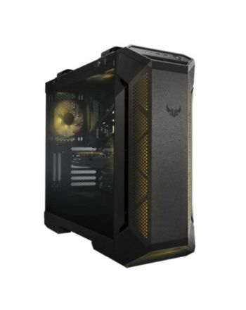 Asus TUF Gaming GT501 Gaming Case w/ Window, E-ATX, No PSU, Tempered Smoked Glass, 3 x 12cm RGB Fans, Carry Handles