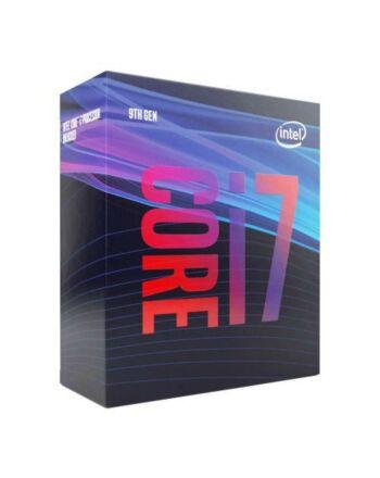 Intel Core i7-9700 CPU, 1151, 3.0 GHz (4.7 Turbo), 8-Core, 65W, 14nm, 12MB Cache, UHD GFX, Coffee Lake