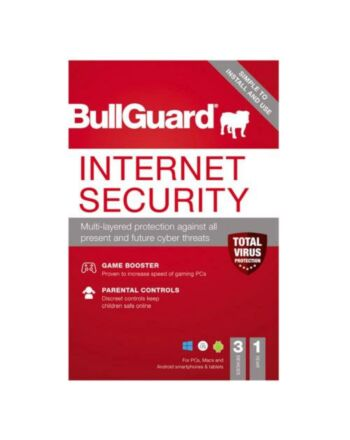 Bullguard Internet Security 2021 Retail 10 Pack - 10 x 3 User Licences - 1 Year - Pack, PC, Mac & Android