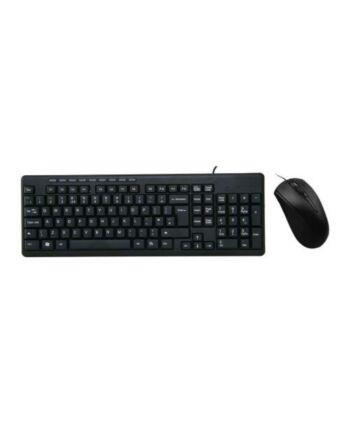 Pulse Wired Keyboard and Mouse Desktop Kit, USB, Multimedia Keyboard