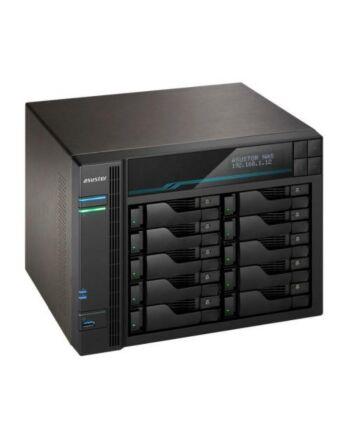 ASUSTOR AS6510T Lockerstor 10-Bay NAS Enclosure (No Drives), Quad Core CPU, 8GB DDR4, USB 3.2, 2 x 10G LAN, 2 x 2.5G LAN,  2 x M.2 NVMe