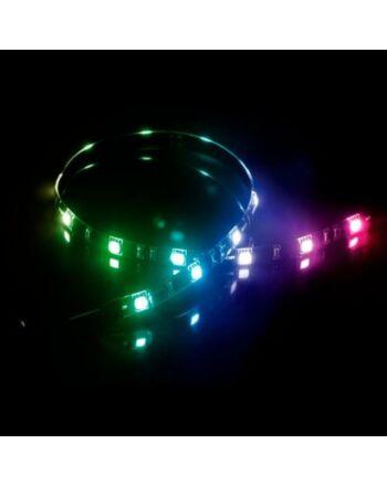Akasa Vegas MB RGB LED Light Strip, 50cm, 12V, Molex 4 Pin, Magnetic Backing, Aura Sync Compatible