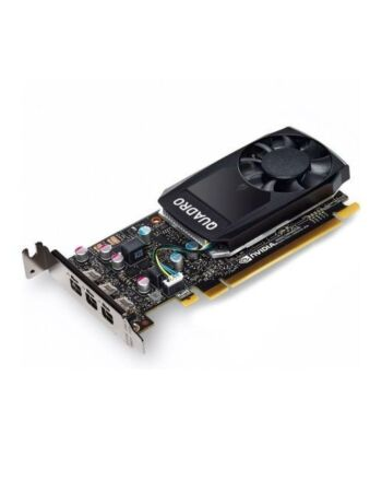 PNY Quadro P400 V2 Professional Graphics Card, 2GB DDR5, 256 Cores, 3 miniDP, Low Profile, OEM (Brown Box)