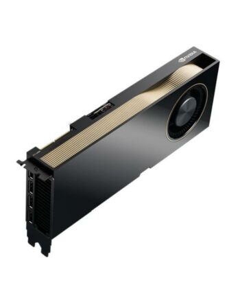 PNY Quadro RTXA6000 Professional Graphics Card, 48GB DDR6, 4 DP (HDMI adapter), Ampere Ray Tracing, 10752 Core, NVLink support