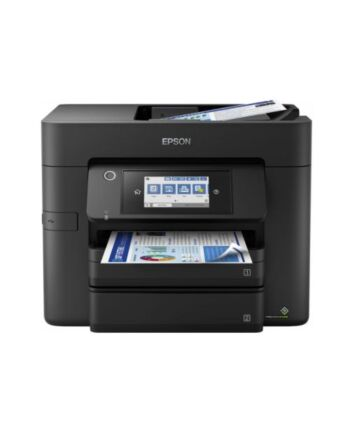 Epson Workforce WF-4830DTWF 4-in-1 Wireless/USB A4 Duplex Inkjet Printer, Touchscreen, ADF, A4 Double-Sided Printing