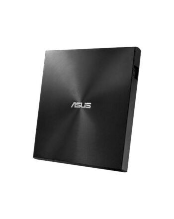 Asus (ZenDrive U9M) External Slimline DVD Re-Writer, USB-A / USB-C, 8x, Black, M-Disc Support, Cyberlink Power2Go 8, Black