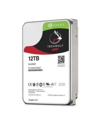 "Seagate 3.5"", 12TB, SATA3, IronWolf NAS Hard Drive, 7200RPM, 256MB Cache, OEM"
