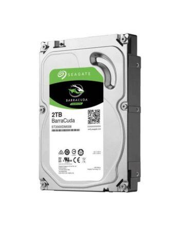 "Seagate 3.5"", 2TB, SATA3, BarraCuda Hard Drive, 7200RPM, 256MB Cache, OEM"