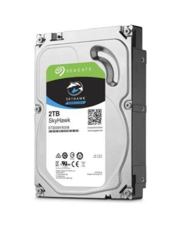 "Seagate 3.5"", 2TB, SATA3, SkyHawk Surveillance Hard Drive, 64MB Cache, 24/7, OEM"