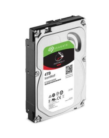 "Seagate 3.5"", 4TB, SATA3, IronWolf NAS Hard Drive, 5900RPM, 64MB Cache, OEM"