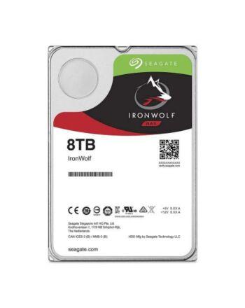 "Seagate 3.5"", 8TB, SATA3, IronWolf NAS Hard Drive, 7200RPM, 256MB Cache, OEM"