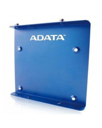 """Adata SSD Mounting Kit, Frame to Fit 2.5"""" SSD or HDD into a 3.5"""" Drive Bay, Blue Metal"""