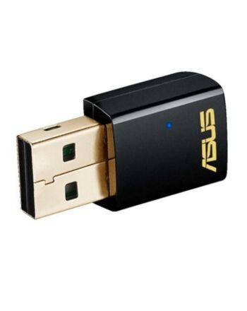 Asus (USB-AC51) AC600 (433+150) AC Wireless Dual Band Nano USB Adapter